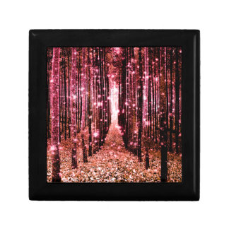 Magical Forest Peach Pink Gift Box
