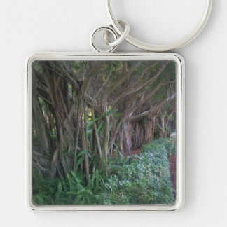 Magical Forest Tree Path Design Key Chain