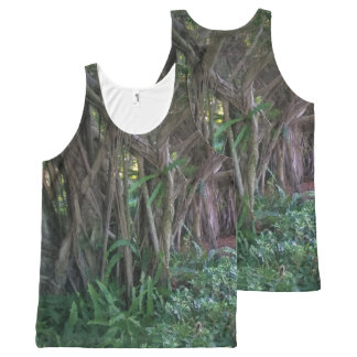 Magical Forest Trees Tank Top