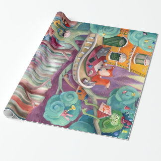 Magical Forest Wrapping Paper