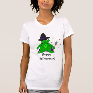Magical Frog Hoppy Halloween Tshirt