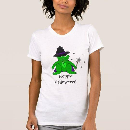 Magical Frog Hoppy Halloween Tshirt