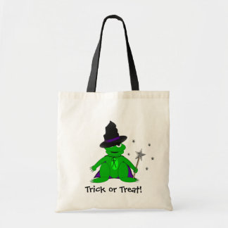 Magical Frog Trick or Treat Tote! Budget Tote Bag