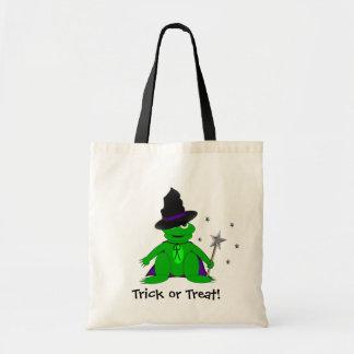 Magical Frog Trick or Treat Tote! Budget Tote Bag