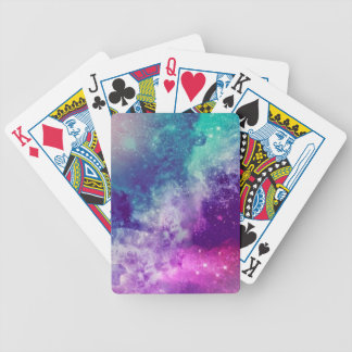 Magical Galaxy Bicycle Playing Cards
