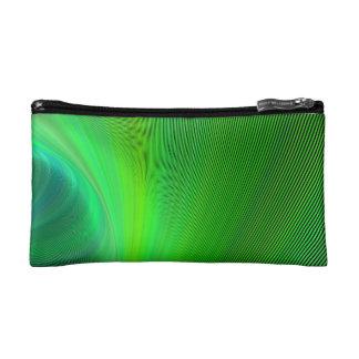 Magical green cosmetic bags