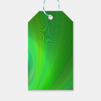 Magical green pack of gift tags