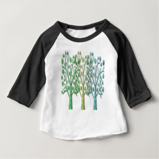 Magical green trees baby T-Shirt