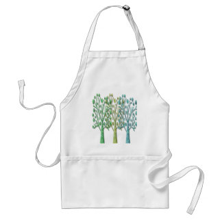 Magical green trees standard apron