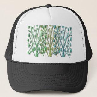 Magical green trees trucker hat