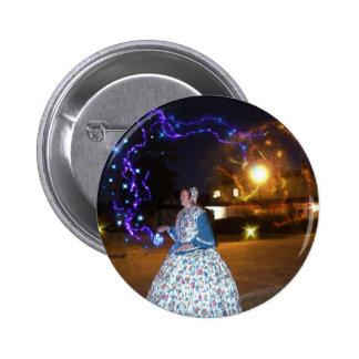 Magical Haunted Dahlonega- Spirits, Legends &Lore 2 Inch Round Button