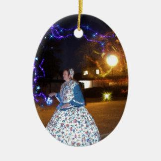 Magical Haunted Dahlonega- Spirits, Legends &Lore Ceramic Ornament