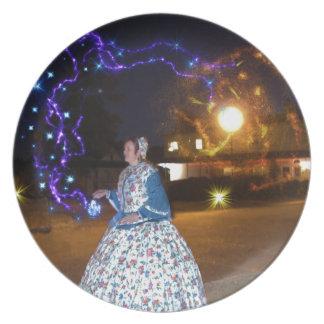 Magical Haunted Dahlonega- Spirits, Legends &Lore Dinner Plate