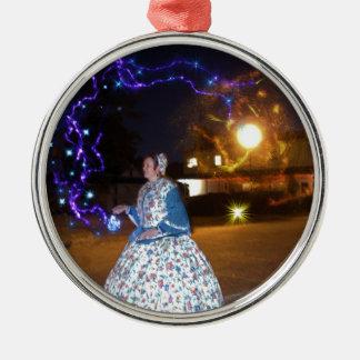 Magical Haunted Dahlonega- Spirits, Legends &Lore Metal Ornament