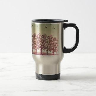 Magical hill travel mug