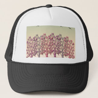 Magical hill trucker hat