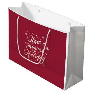 magical holiday Holiday Gift Bag