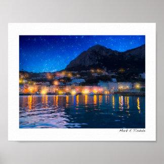 Magical Italian Isle of Capri - Small Print