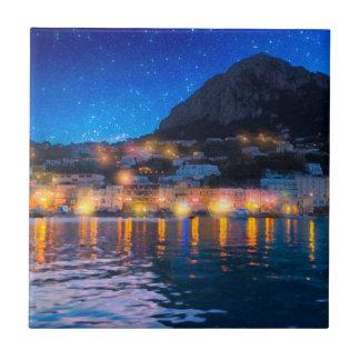 Magical Italian Isle of Capri Tile