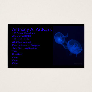 Magical Jelly Fish Business Card