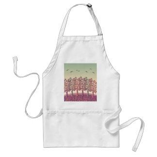Magical landscape standard apron