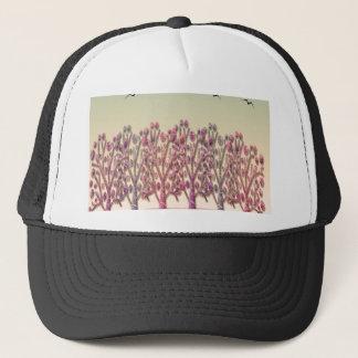 Magical landscape trucker hat