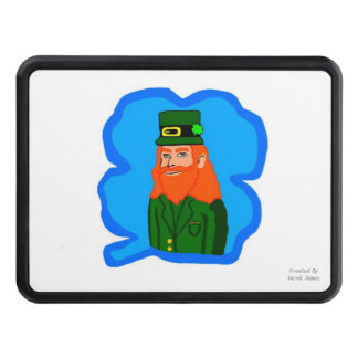 Magical Leprechaun Trailer Hitch Cover