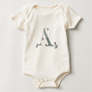 Magical Letter A from tony fernandes design Baby Bodysuit