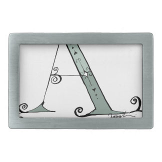 Magical Letter A from tony fernandes design Rectangular Belt Buckles