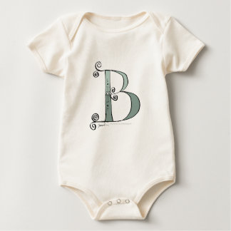 Magical Letter B from tony fernandes design Baby Bodysuit