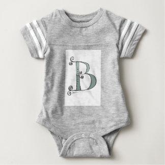 Magical Letter B from tony fernandes design Baby Bodysuit