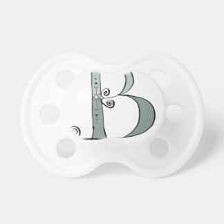 Magical Letter B from tony fernandes design Pacifier