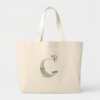 Magical Letter C from tony fernandes design Large Tote Bag