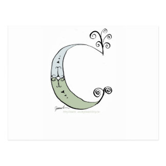 Magical Letter C from tony fernandes design Postcard
