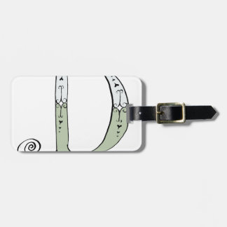 Magical Letter D from tony fernandes design Luggage Tag