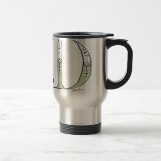 Magical Letter D from tony fernandes design Travel Mug