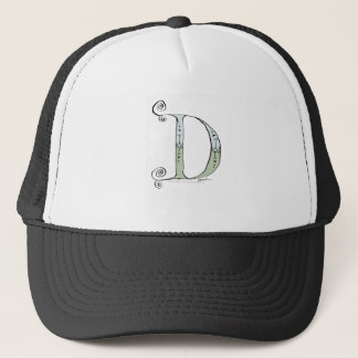 Magical Letter D from tony fernandes design Trucker Hat