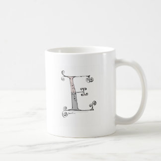 Magical Letter E from tony fernandes design Coffee Mug