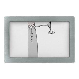 Magical Letter F from tony fernandes design Belt Buckle