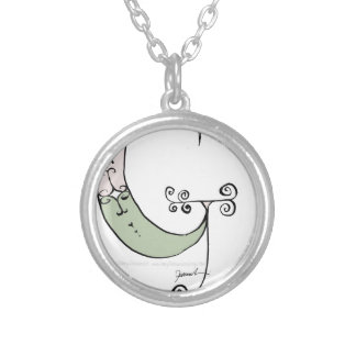 Magical Letter G from tony fernandes design Silver Plated Necklace