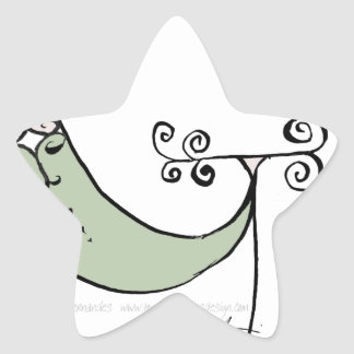 Magical Letter G from tony fernandes design Star Sticker