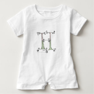 Magical Letter H from tony fernandes design Baby Romper