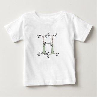 Magical Letter H from tony fernandes design Baby T-Shirt