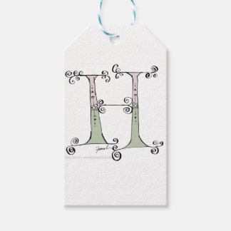 Magical Letter H from tony fernandes design Pack Of Gift Tags