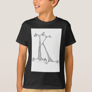 Magical Letter K from tony fernandes design T-Shirt