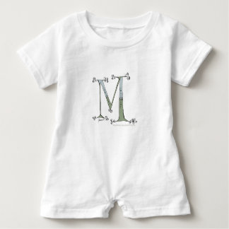 Magical Letter M from tony fernandes design Baby Romper