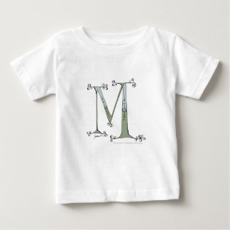 Magical Letter M from tony fernandes design Baby T-Shirt
