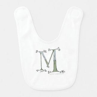 Magical Letter M from tony fernandes design Bib