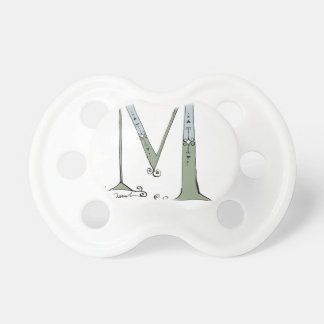 Magical Letter M from tony fernandes design Pacifier