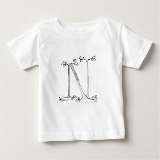 Magical Letter N from tony fernandes design Baby T-Shirt
